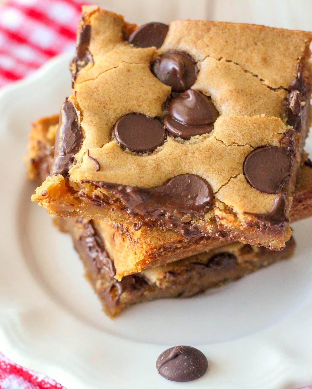 Chocolate Chip Cookie Bars