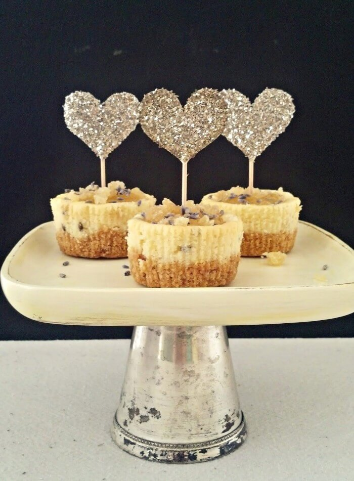 Glass Glitter Vupcke Toppers