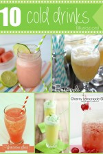 10 Cold Drinks - Perfectly refreshing for those hot summer days!! { lilluna.com }