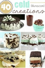 40 Cold Creations and Desserts - cold and refreshing for a summertime treat!! { lilluna.com }