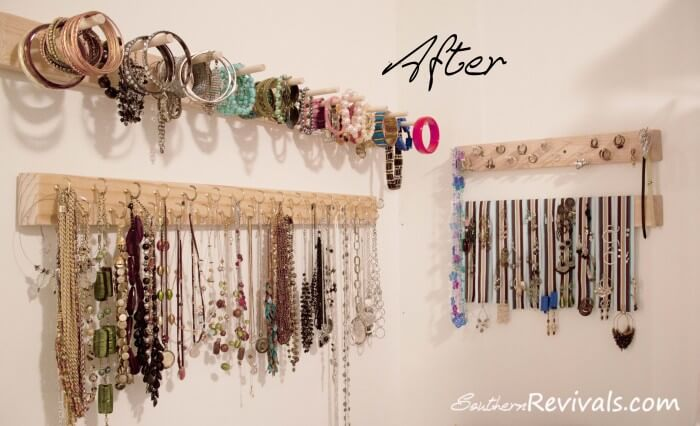 How To Make A Homemade Jewelry Organizer Jewelry Ideas