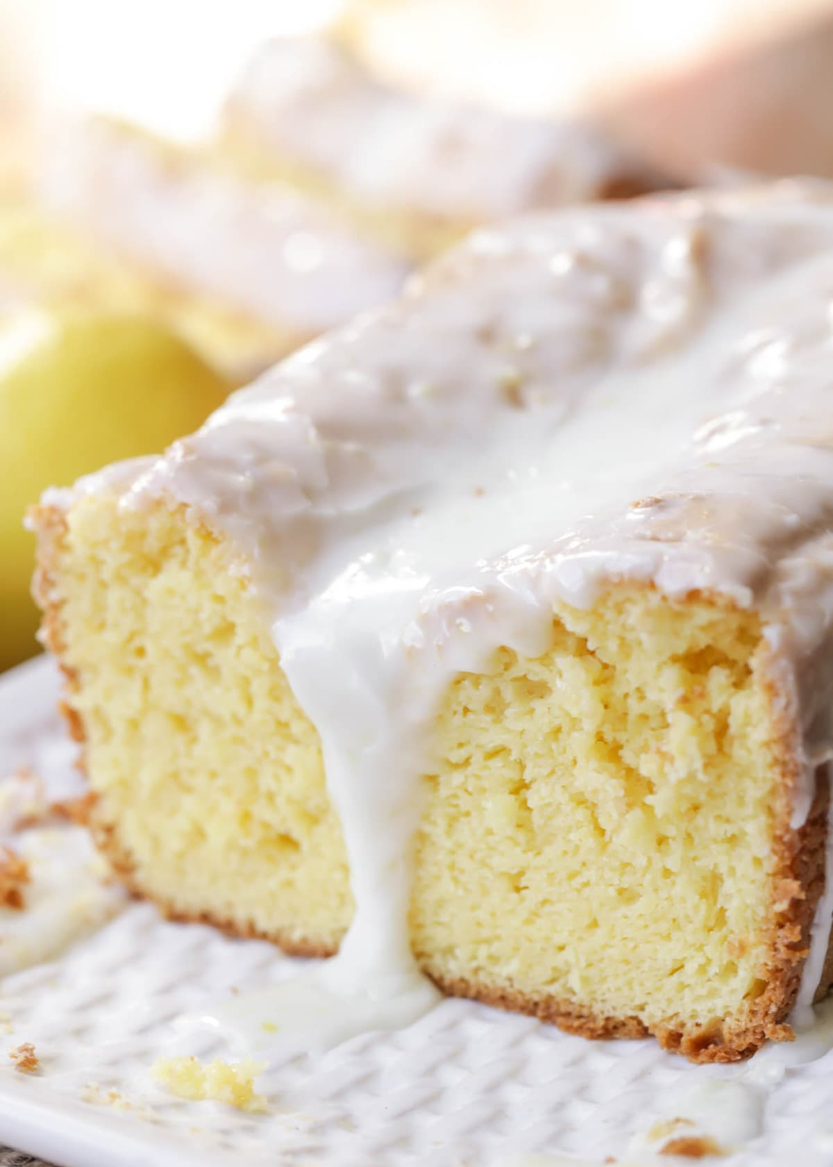 Lemon Cake Mix Bread