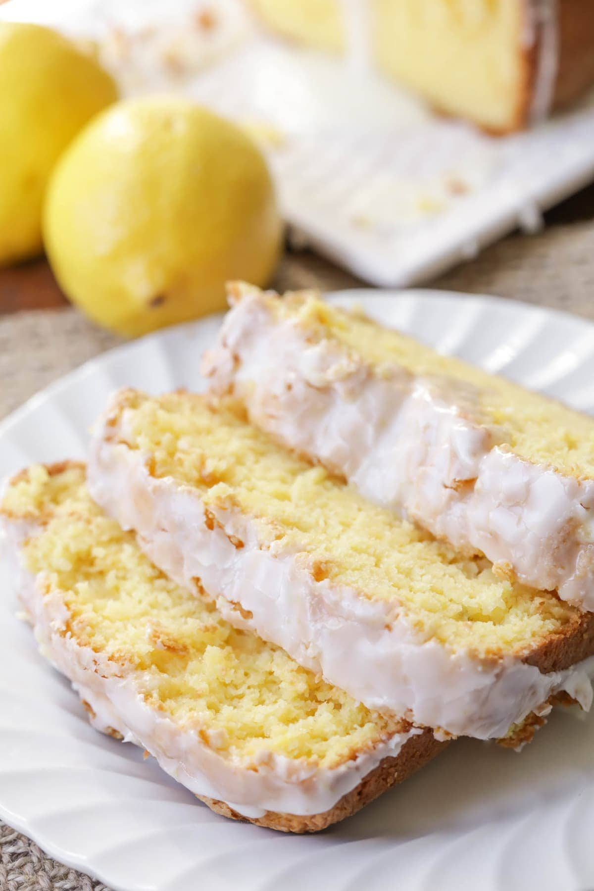 Lemon Loaf With White Cake Mix