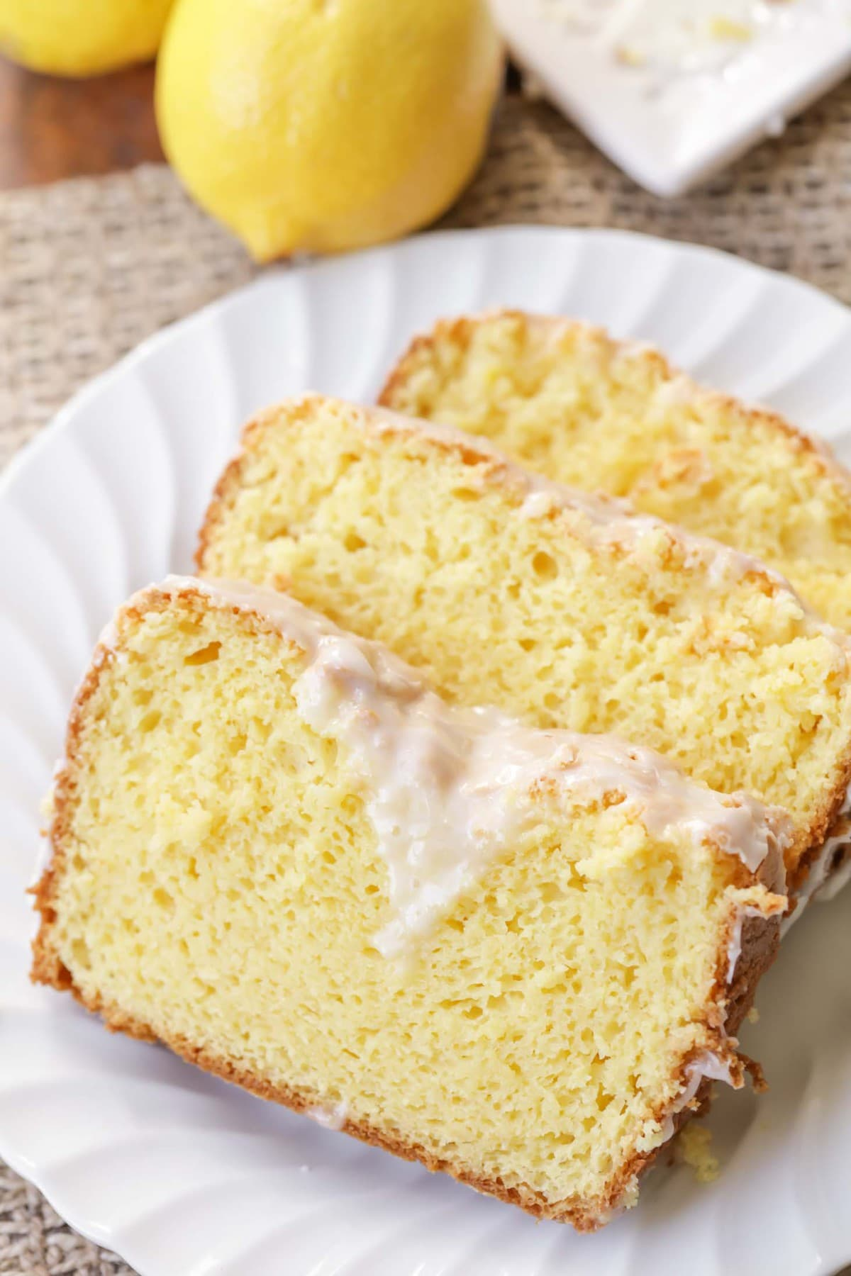 White Chocolate Lemon Bread recipe