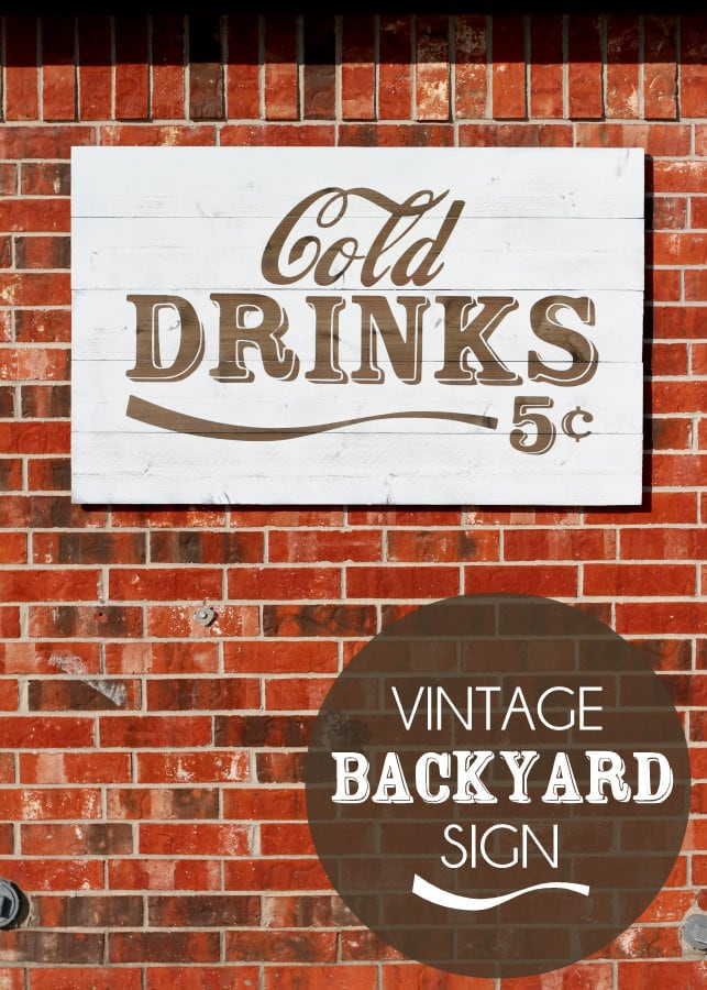 Awesome Vinatge Cold Signs Tutorial on { lilluna.com } #sign