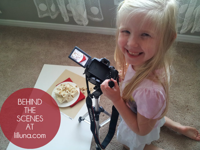 Behind the Scenes - White Chocolate Reeses Fudge