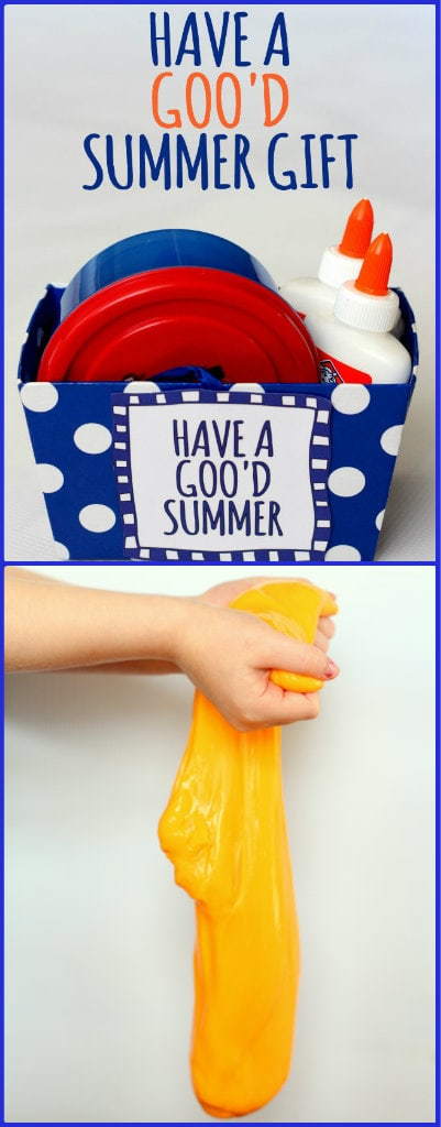 GOO'D Summer Gift Idea! The kids will LOVE this!! Inexpensive and easy to put together!