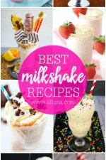 30 Milkshake Recipes