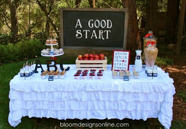 Back to School Breakfast Party and prints!! Great ideas & food to start the day off great!
