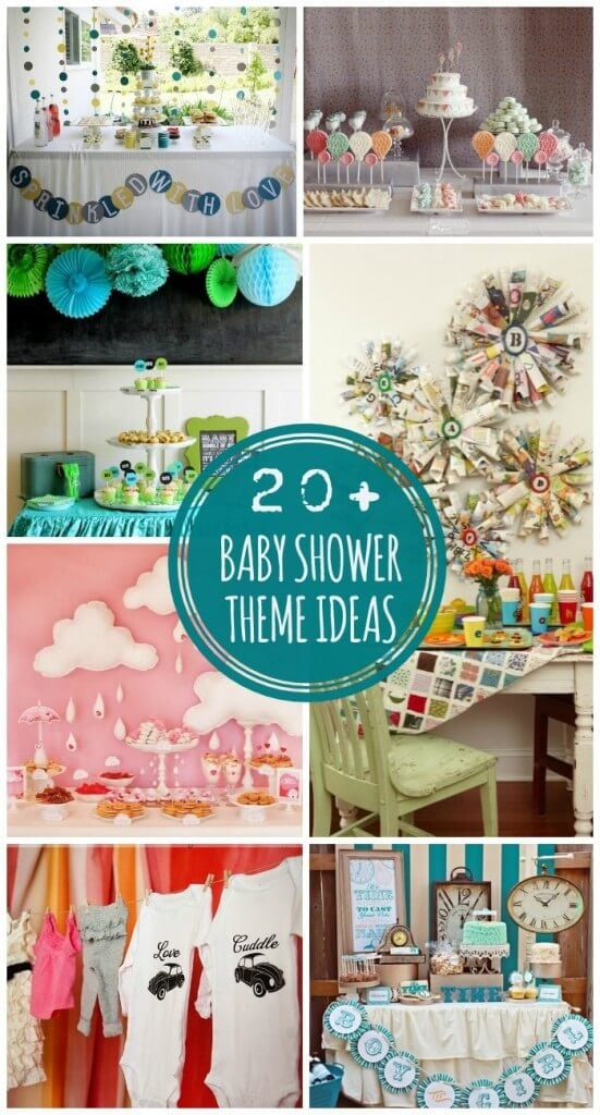 20+ Baby Shower Theme Ideas on { lilluna.com } Lots of cute ideas to throw the best baby shower!