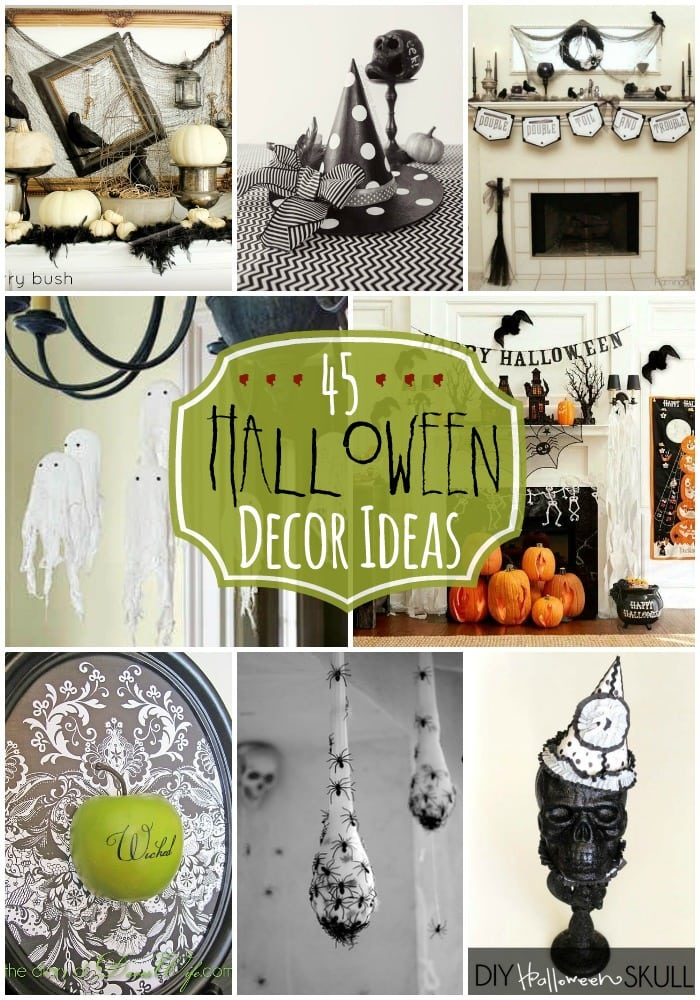 halloween decor ideas. Black Bedroom Furniture Sets. Home Design Ideas