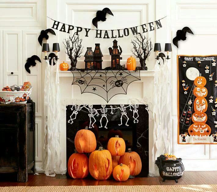 45 halloween decor ideas tons of spooky and fun halloween decorations to inspire you - Halloween Decor