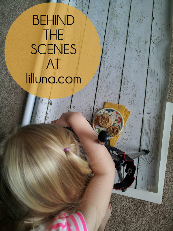 Behind the Scenes - Milky Way Caramel Cookies