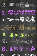 Favorite Free Halloween Dingbats on { lilluna