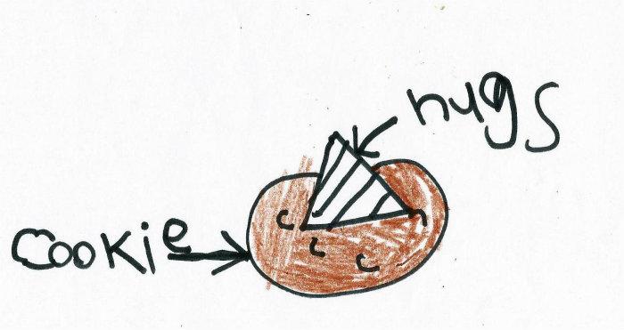 The Game Plan - Gooey Chocolate Hug Cookies