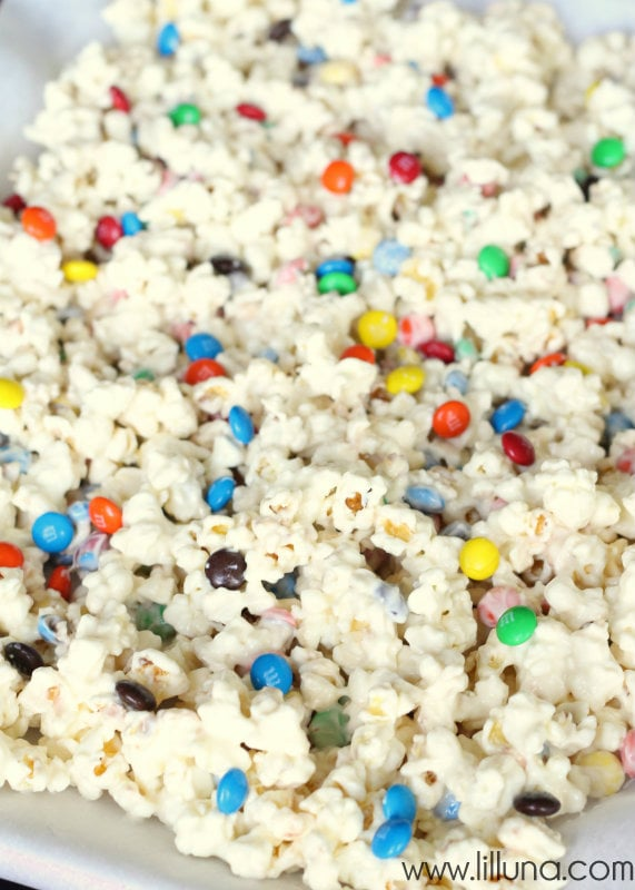 White Chocolate M&M Popcorn - 2