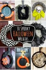 30 Spooky Halloween Wreaths