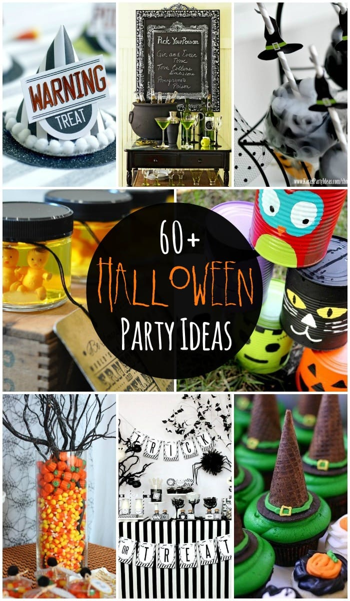 60+ Halloween Party Ideas - including decor, food, games, and favors!! { lilluna.com }