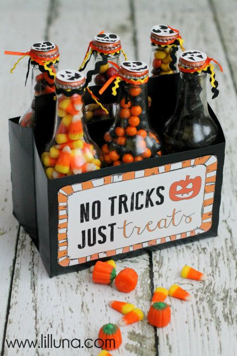 43 FREE Halloween Printables - A collection of free Halloween printables to use for decoration, party favors, etc.!! { lilluna.com }