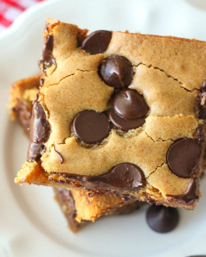 Cookie Bars aka Pan Chewies - our go-to dessert when company comes!