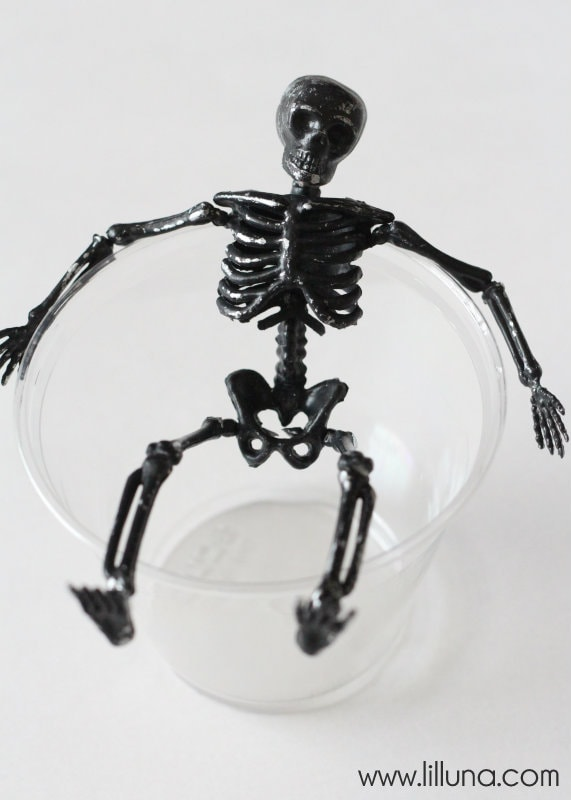 Skeleton Pudding Cups - 2