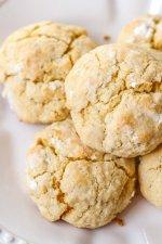 Gooey Butter Pumpkin Cookies