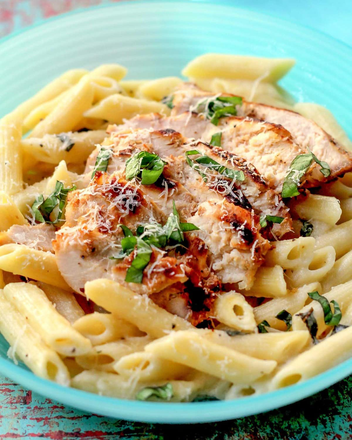 Lemon Chicken and Pasta
