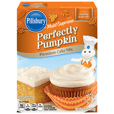 Pillsbury Pumpkin Cake Mix Cookies