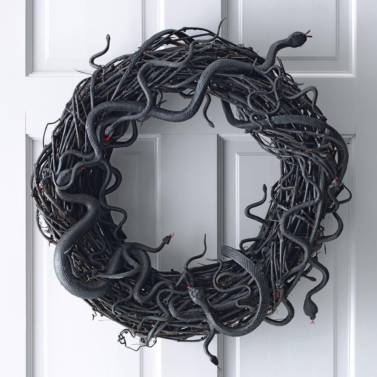 Design Halloween Wreath 75 halloween wreaths lil luna snake wreath