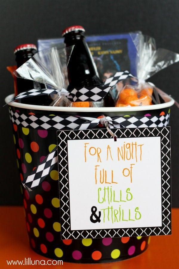 Halloween Baby Gifts Ideas : Halloween movie night gift idea