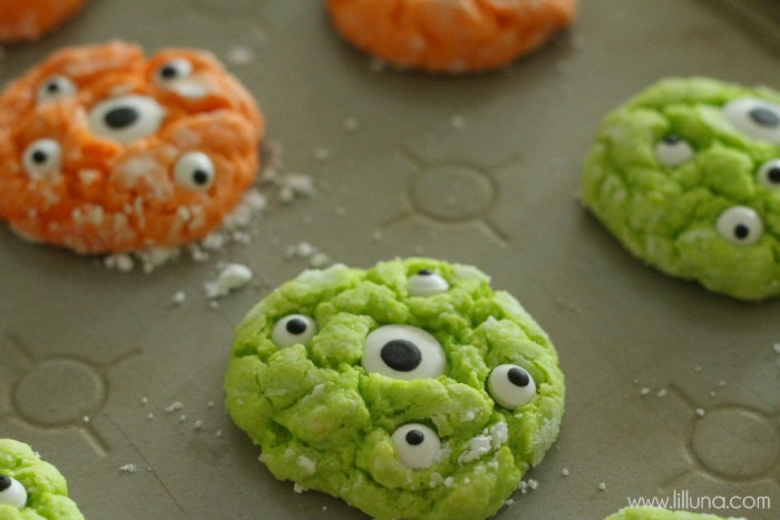 Gooey Monster Cookies - 6