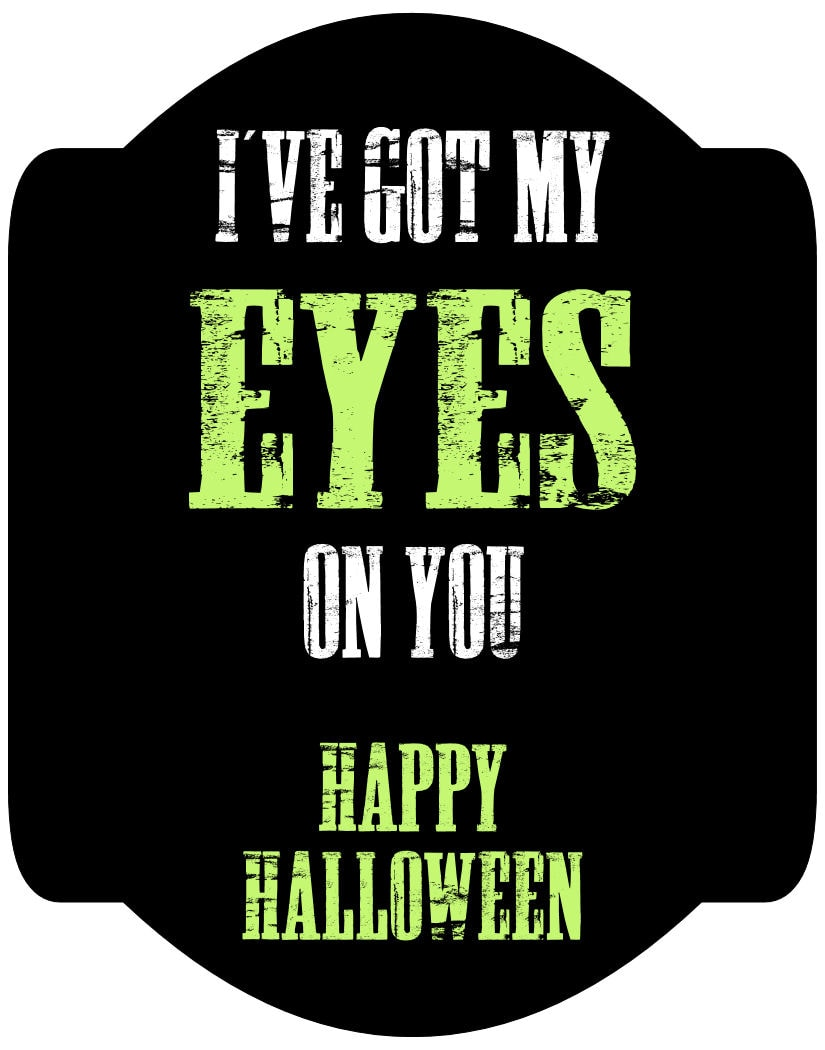 Halloween-EYES on You print