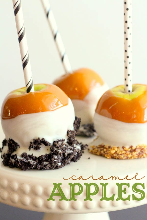 How to make Perfect Caramel Apples! Tips on how to make them look mouth watering!