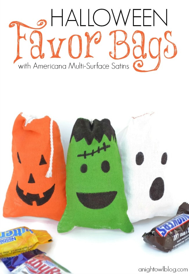 Halloween Bags personalized halloween bag black chevron Halloween Gift Ideas