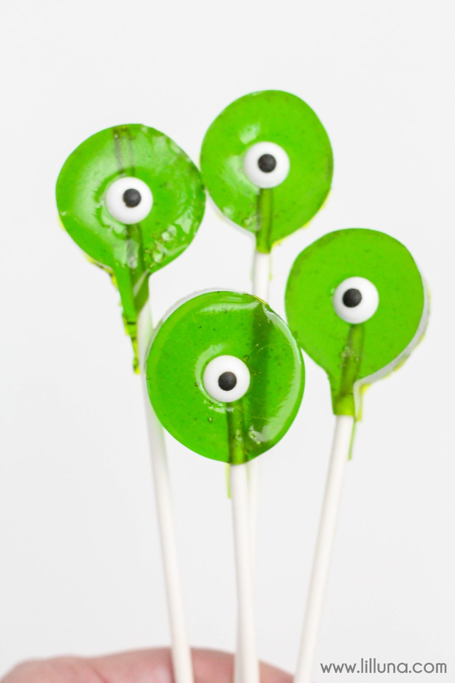 Monster Suckers - these suckers are awesome for Halloween or just for fun! The kids love them!!