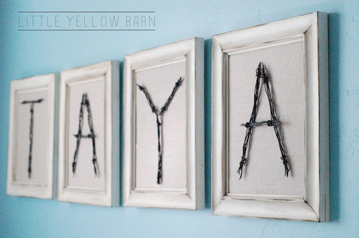 Awesome DIY Wire Letters