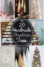 20 Handmade Christmas Trees
