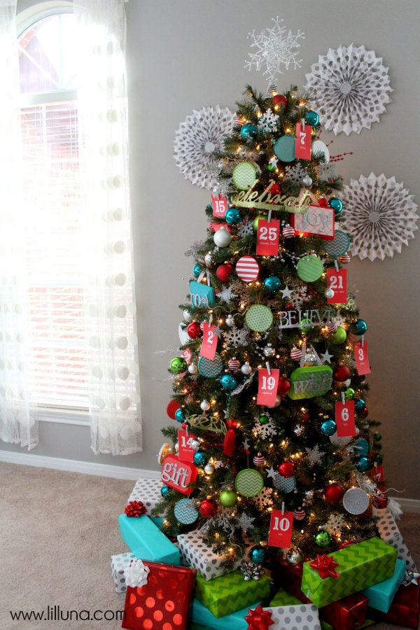 Bright and Cheery Christmas Tree