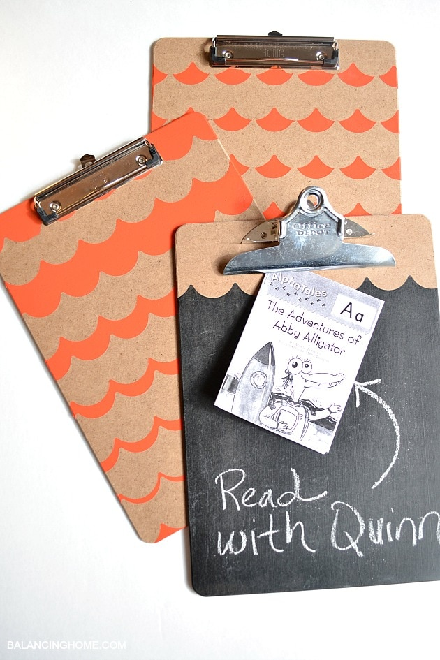 CLIPBOARDS-DECORATED-WITH-SHAPE-TAPE