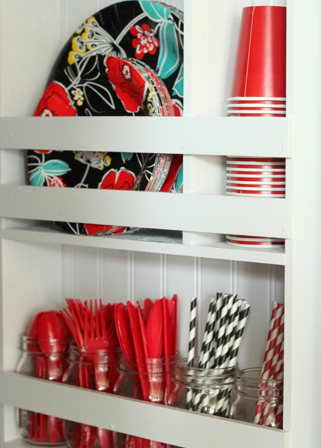DIY Pantry Organizer Shelf