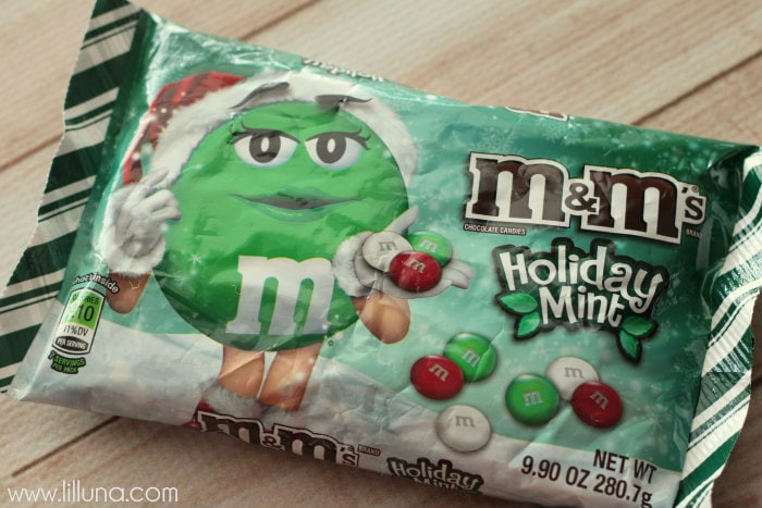 Frosted Holiday Mint M&M Brownies - 1