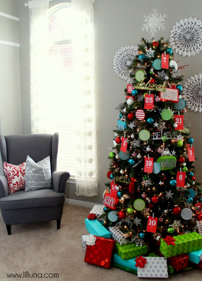 Christmas Tree Making Ideas