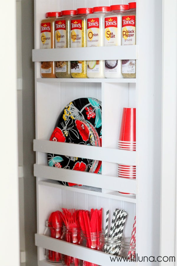 Pantry Organizer Shelving Unit Tutorial