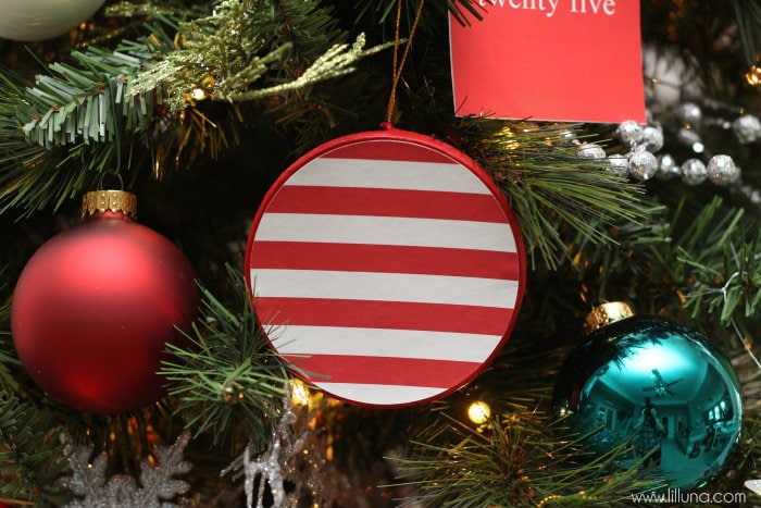 Scrapbook Paper Mache Ornaments