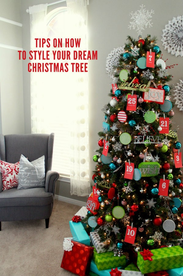 TIPS on how to decorate YOUR dream Christmas Tree