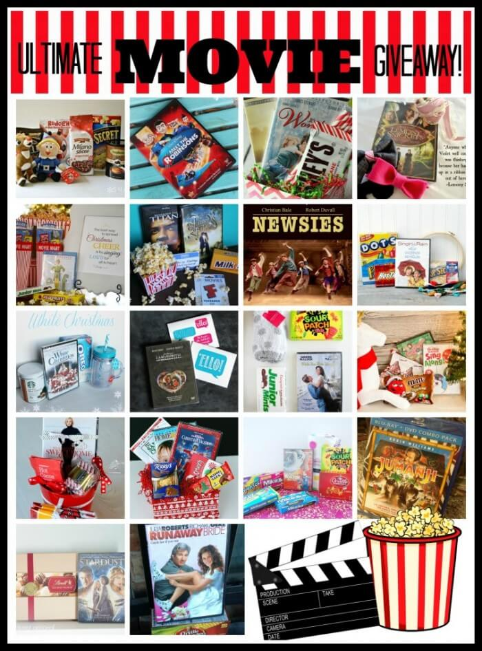 The Ultimate Movie Giveaway - Enter to win 20+ Movies and MORE! { lilluna.com }