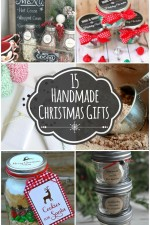 15 Handmade Christmas Gift Ideas - several cute AND easy handmade gifts!! { lilluna.com }
