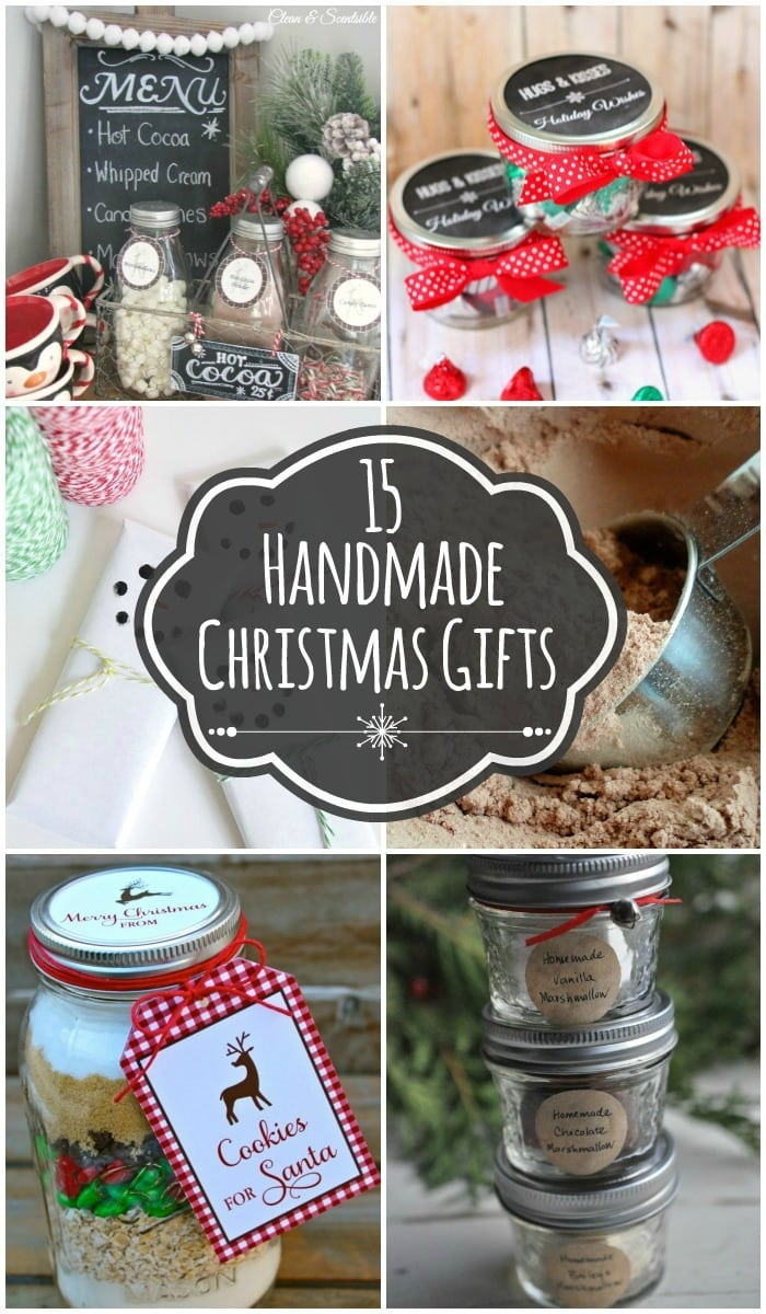 15 Handmade Christmas Gift Ideas