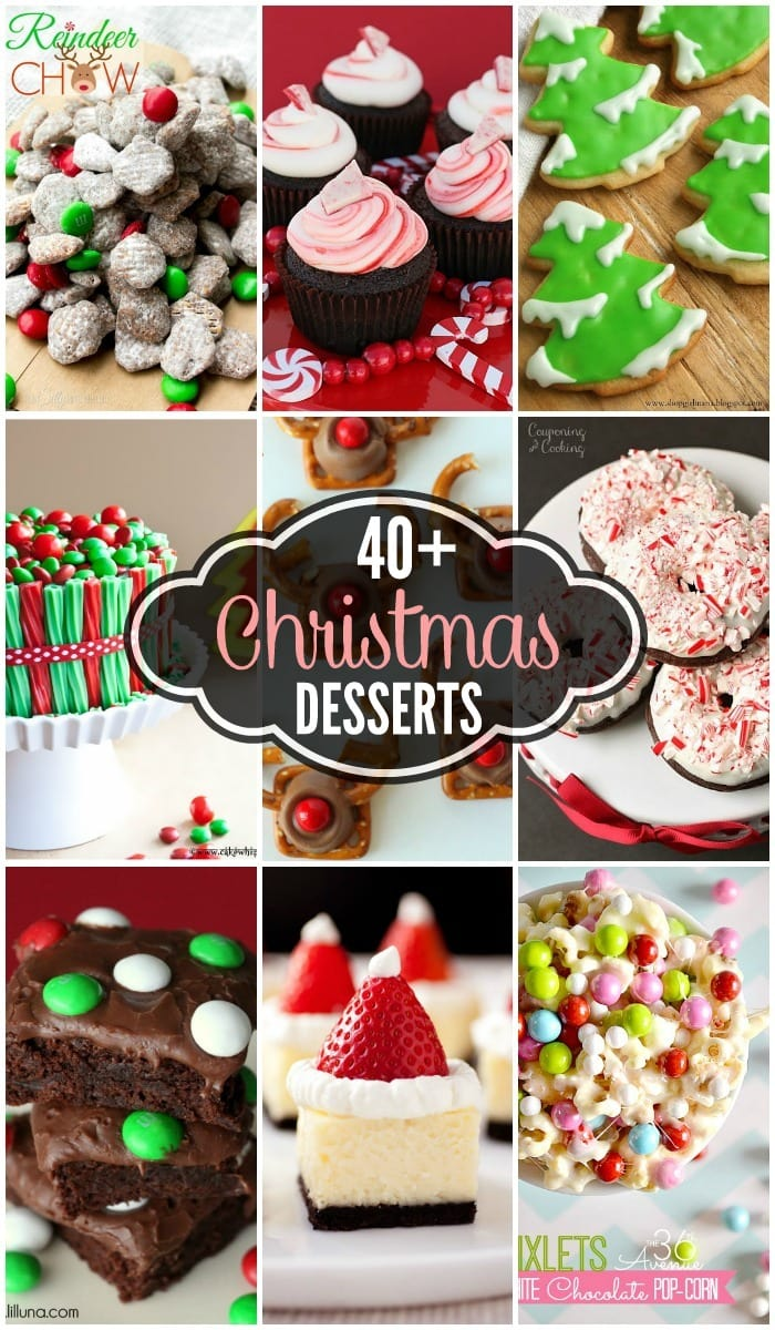 Echopaul official blog 40 christmas desserts for Pics of christmas desserts