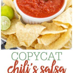 Chili S Salsa Recipe Restaurant Copycat Lil Luna